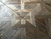 Cotswolds Louvre Panel Reclaimed Oak